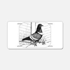 Starling Pigeon 1973 Aluminum License Plate