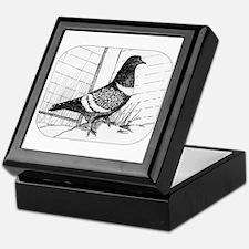 Starling Pigeon 1973 Keepsake Box
