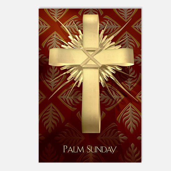 Palm Sunday Cross Postcards (Package of 8)