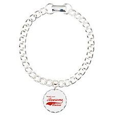 World's Most Awesome Nurse Charm Bracelet, One Cha