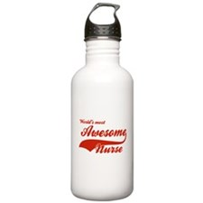 World's Most Awesome Nurse Water Bottle