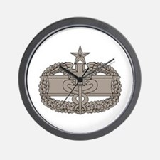 Combat Medical Badge 2nd Awd Wall Clock