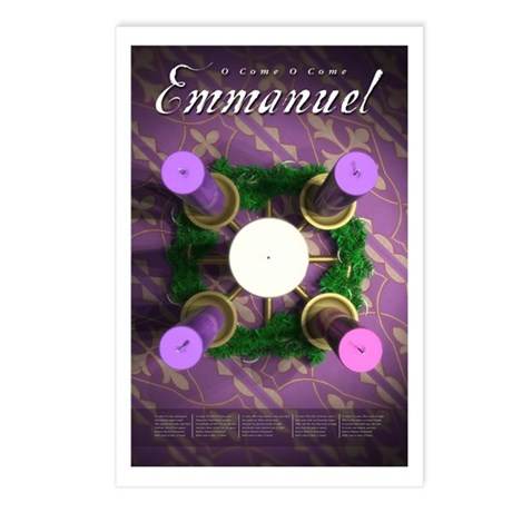 Advent Wreath Postcards (Package of 8)