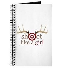 Cute Shoot like a girl Journal