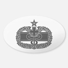 Combat Medical Badge 2nd Award B-W Decal