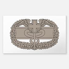 Combat Medical Badge Sticker (Rectangle)