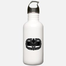 Combat Medical Badge B-W Water Bottle
