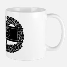 Combat Medical Badge B-W Mug