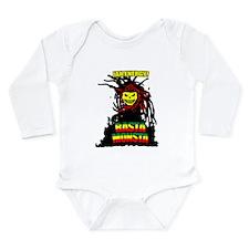Rasta Monsta Long Sleeve Infant Bodysuit