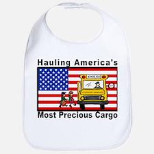 School Bus Precious Cargo Bib