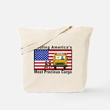School Bus Precious Cargo Tote Bag