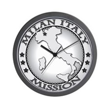 Milan Italy LDS Mission Wall Clock