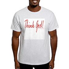 Think God Ash Grey T-Shirt