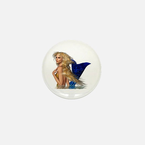 The Mermaid Mini Button