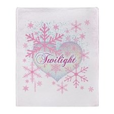 Twilight Pink Snowflakes by Twibaby Stadium Blank