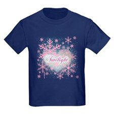 Twilight Pink Snowflakes by Twibaby T