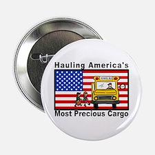 """School Bus Precious Cargo 2.25"""" Button (10 pa"""