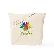 Meredith the Turkey Tote Bag