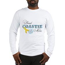 Proud Coastie Mom Long Sleeve T-Shirt