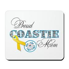 Proud Coastie Mom Mousepad