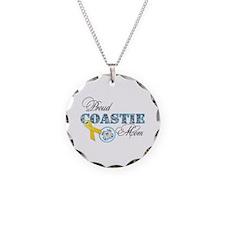 Proud Coastie Mom Necklace