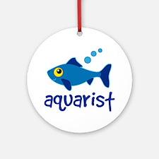 Aquarist Fishkeeper Ornament (Round)