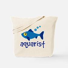 Aquarist Fishkeeper Tote Bag
