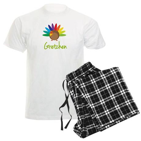 Gretchen the Turkey Men's Light Pajamas