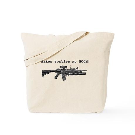 Make zombies go BOOM! Tote Bag