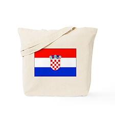 Croatian National Flag Tote Bag
