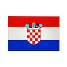 Croatian National Flag Rectangle Magnet