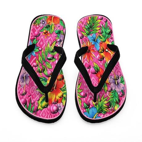 Wetro Tropical Flip Flops