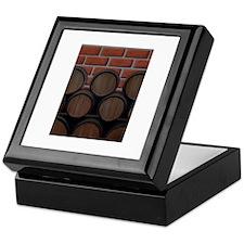 Bricks and Barrel Keepsake Box
