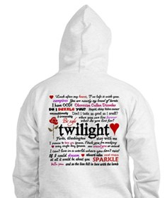 Twilight Quotes Hoodie