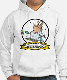 WORLDS GREATEST CAFETERIA COOK LADY Hoodie