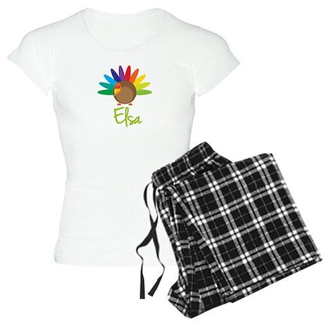 Elsa the Turkey Women's Light Pajamas