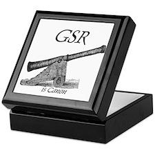 GSR is Canon Keepsake Box