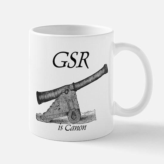 GSR is Canon Mug