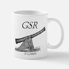 GSR is Canon Small Small Mug