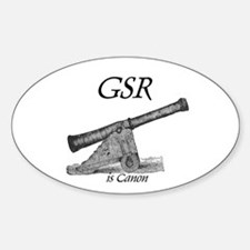GSR is Canon Oval Decal