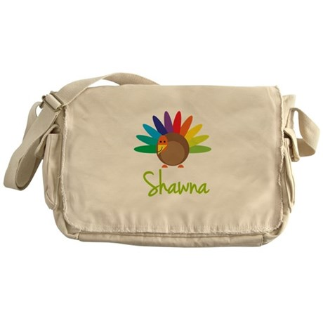 Shawna the Turkey Messenger Bag