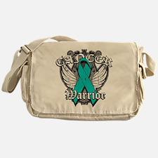 Ovarian Cancer Warrior Messenger Bag