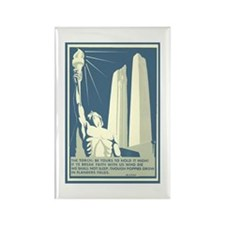 Vimy Ridge Memorial Rectangle Magnet