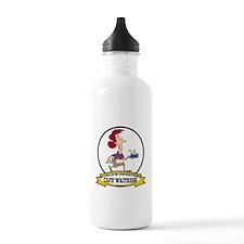 WORLDS GREATEST CAFE WAITRESS Water Bottle