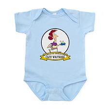 WORLDS GREATEST CAFE WAITRESS Infant Bodysuit