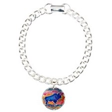 Buffalo,southwest art, Bracelet