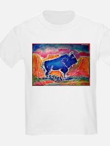 Buffalo,southwest art, T-Shirt