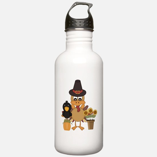 Thanksgiving Friends Water Bottle