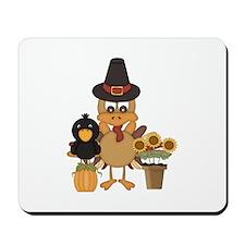Thanksgiving Friends Mousepad