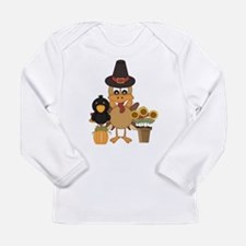 Thanksgiving Friends Long Sleeve Infant T-Shirt